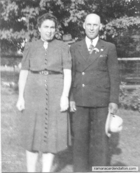 Hazel O'Neil Charlie Clutchey 2nd wife