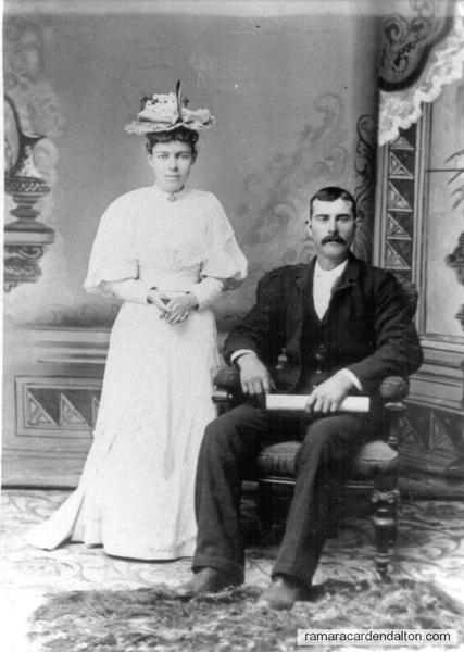Polly-- Frank Clutchey wedding