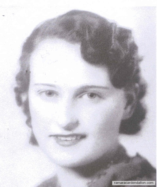 Dorothy Donnelly 1937 20 yrs.
