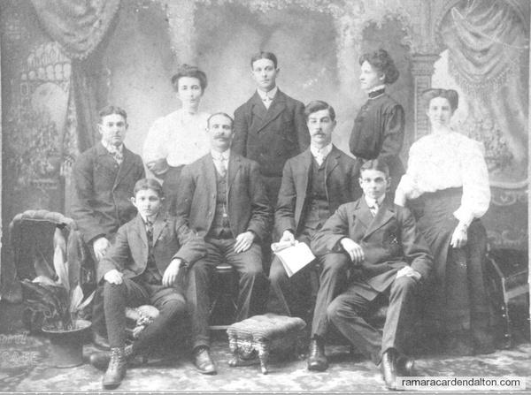 John--Mathilda Family Portrait c 1910