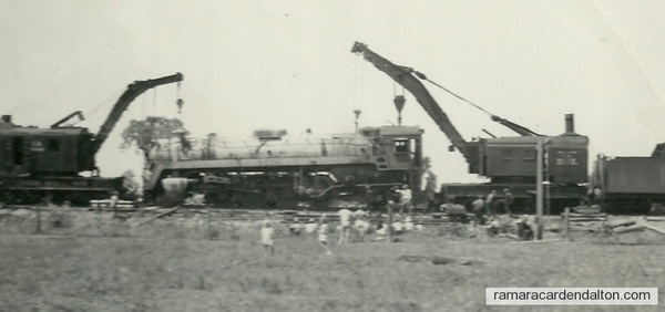 "Trent Canal  ""derail""--May 24 1949"