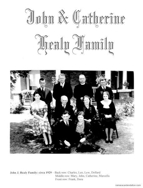 John J. Healy Family