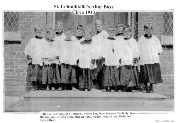 St. Columbkille's Altar Boys-1913