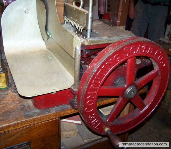 Meat Slicer--Hand operated