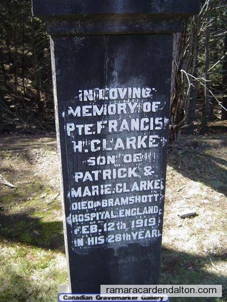 Private Francis H. Clarke