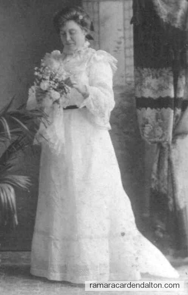 Margaret McElroy McIntagaart Wedding