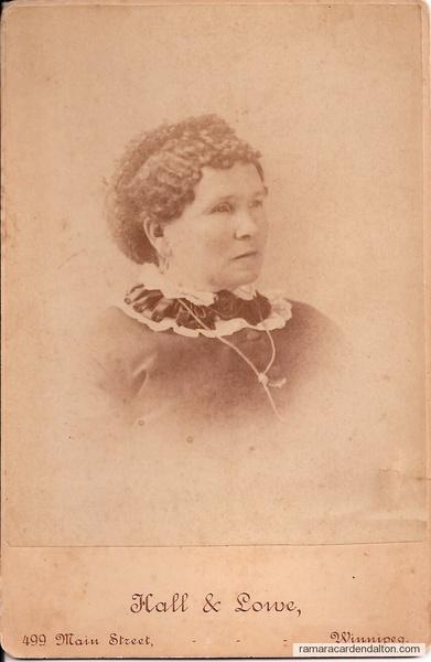 Rose Elizabeth Corrigan (Mrs. Aaron Emes)