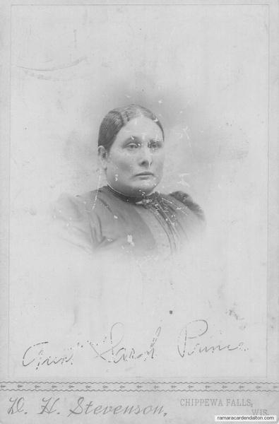 Sarah Corrigan, (Mrs. Andrew Patterson Prince)