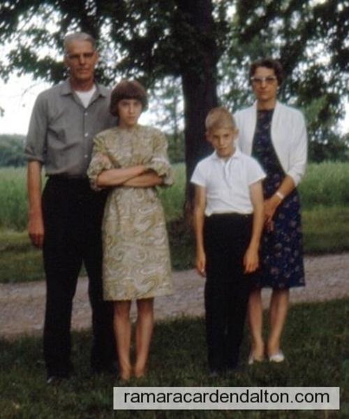 Roy Lamb  and family