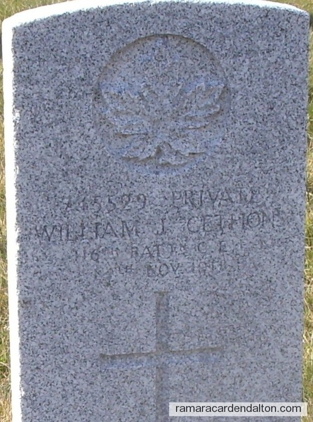 Pte. William Joseph GETTONS