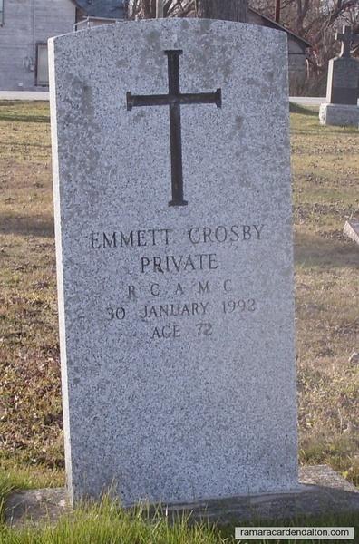 Emmett CROSBY