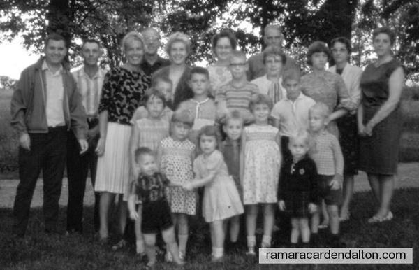 Lamb Family mid 1960's
