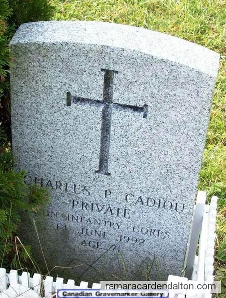 PRIVATE CHARLES P. CADIOU