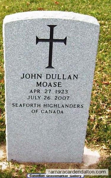 JOHN DULLAN MOASE