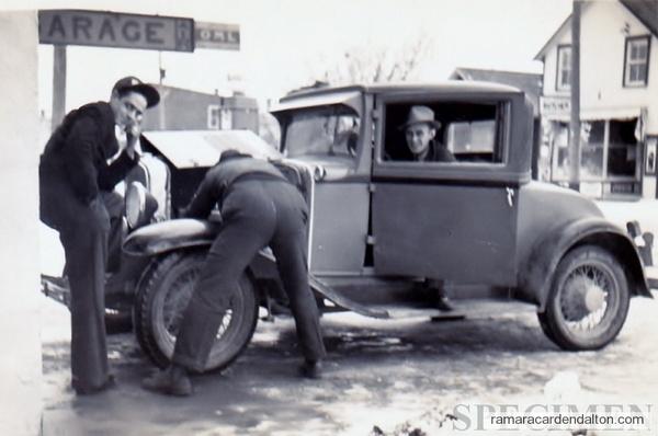 Sandy Young, Bert Miller, Alex Campbell 1938