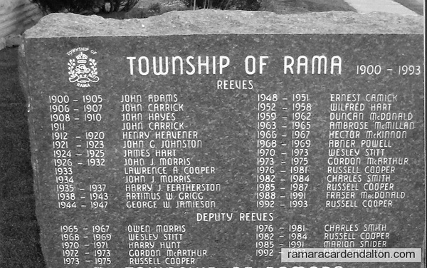 Rama Reeves and Deputy's1900--1993