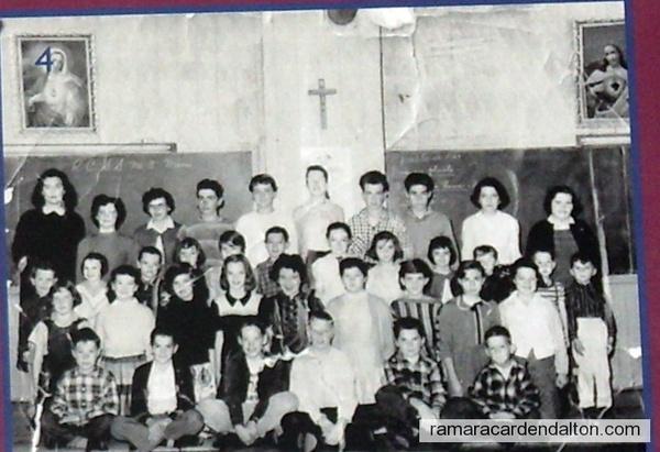 Foley 1957--1958-- Teacher Madelaine Lahay