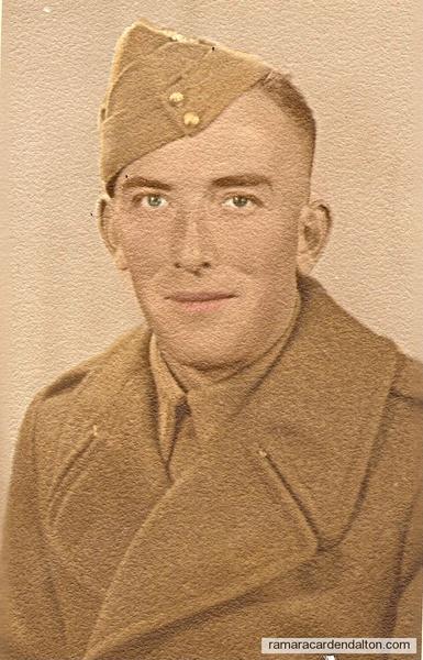 Louis Holmes M17451 Louisberg Platoon A Company, Calgary, abt. 1939