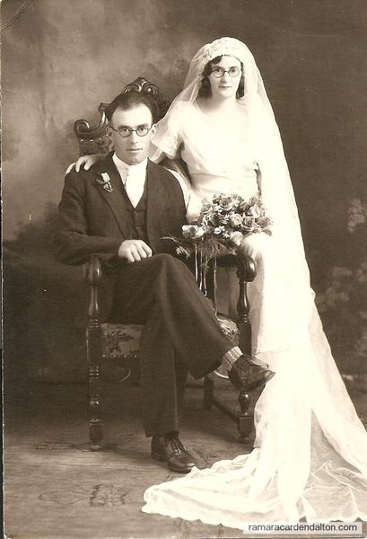 Michael Holmes and Elsie McKenzie wedding