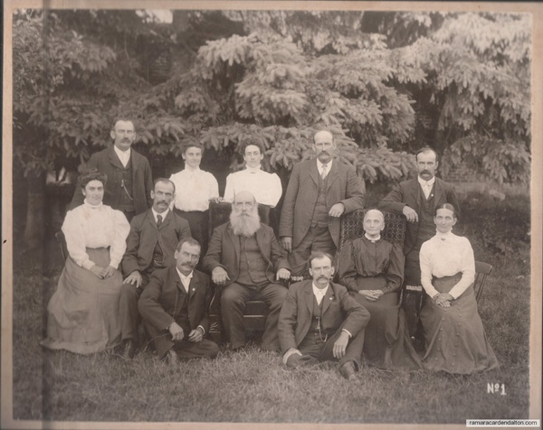 25---50th Anniversary for Charles and Sarah Carson Moore Speiran, July 1909.