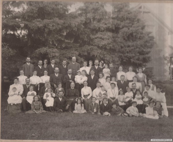 26---50th Anniversary for Charles and Sarah Carson Moore Speiran, July 1909.