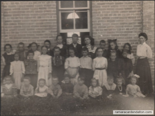 8.2nd row 3rd from rt. Stella Speiran Fleming Front Row Center Edith Speiran Hickson 22