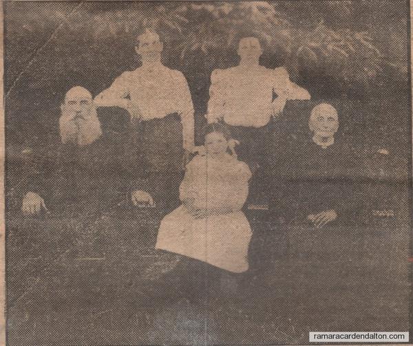 68.Charles,Mary (Acton),Sarah Jane (Martin),Ila Martin, Sarah Carson Moore Speiran 2
