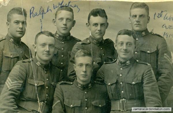 Ralph Whitney --Front Left