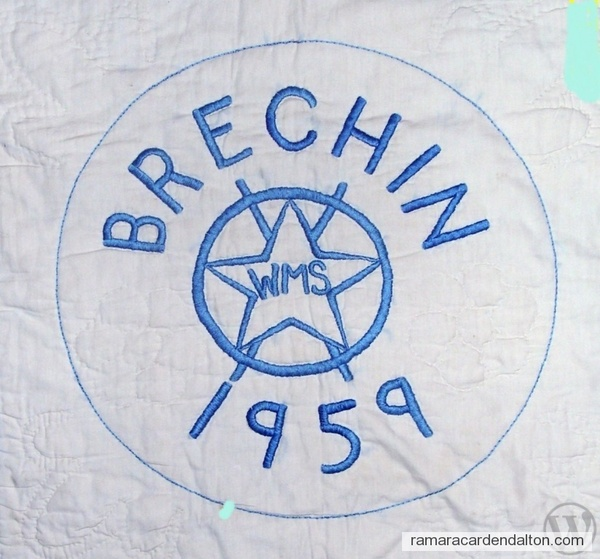 Brechin 1959 WMS
