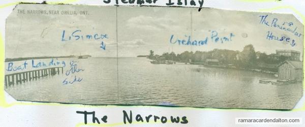 Narrows----Looking to Lake Simcoe