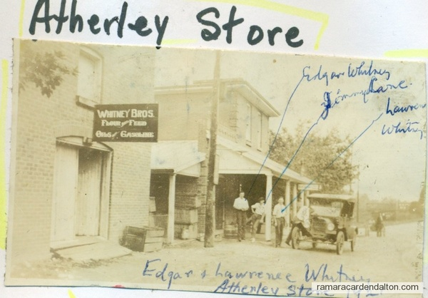 Whitney's Atherley Sore