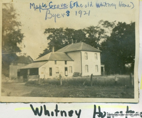 Old Whitney Home --Maple Grove