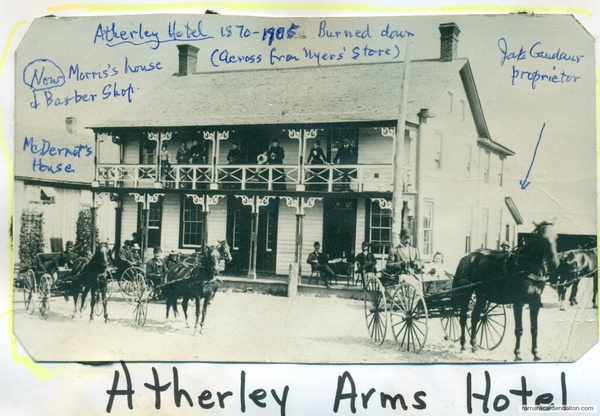 Atherly Hotel 1870-- 1905