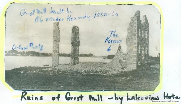 Kennedy Grist Mill --!850 1860