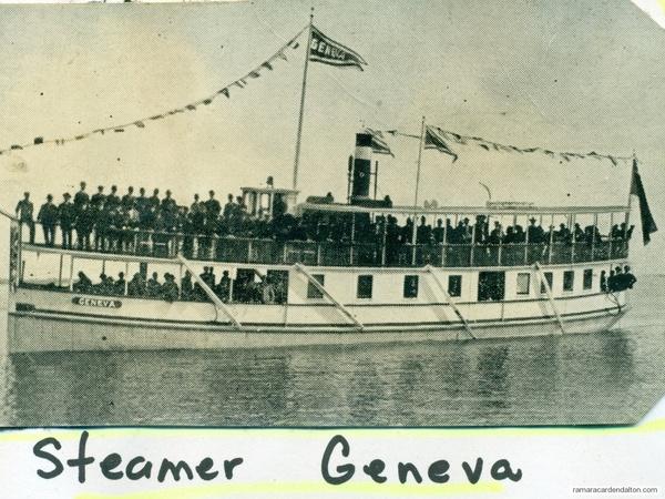 Steamer Geneva