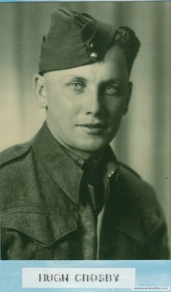 Hugh Albert CROSBY, WWII