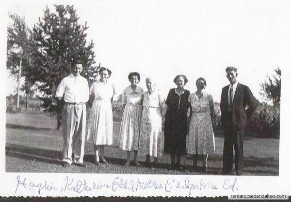 Michael Hugh Crosby's family