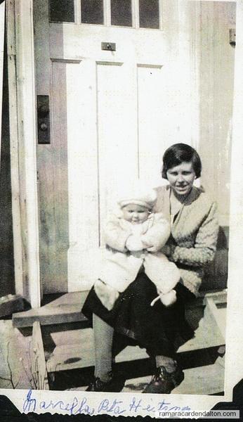 Marcella & Rita Heitzner circa 1933