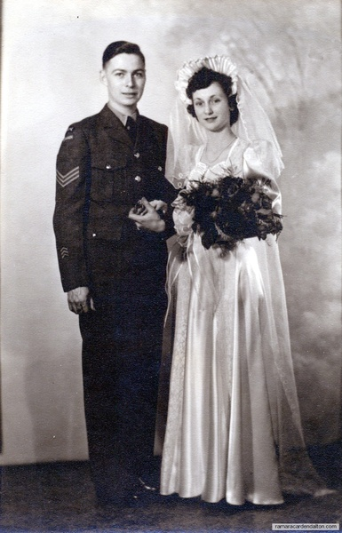 Jim & Mary (Acton) Lindsay-1945