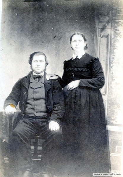 Mr. & Mrs. James Martin-1860