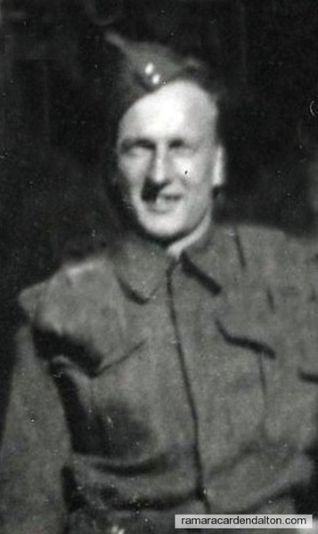 Gerard Clement Donnelly WWII