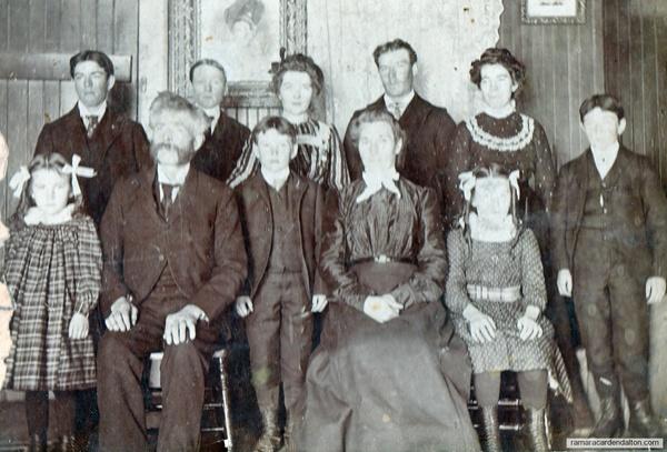 Charles Holmes & Family, circa 1902