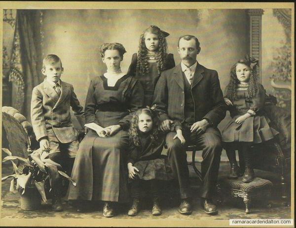 Michael Hugh Crosby's--Family- circa 1910