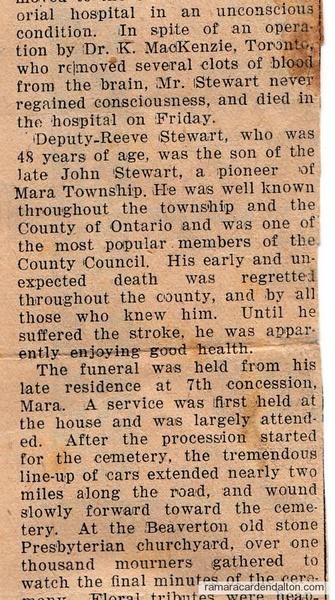 Deputy Reeve Stewart #2