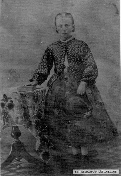 Alice M. Burleigh, 1857-1946, Camden East Ont. c. 1867