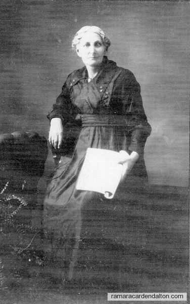 Alice M. Hepinstall in Dec. 1920, 63 yrs of age