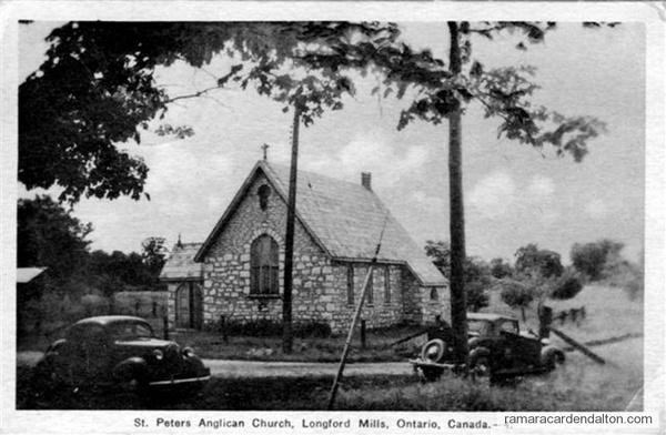 Longford Mills St. Peters Church 1940