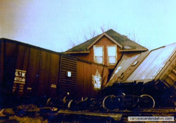 Udney Train Derailment-1962