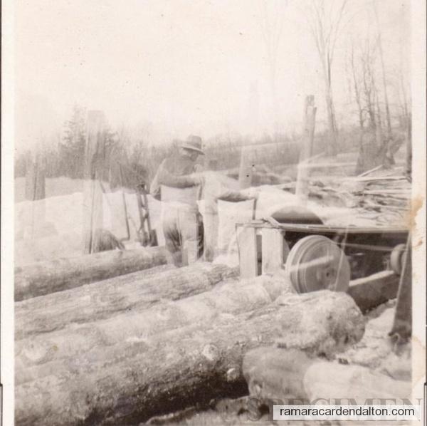 Lamb Sawmill 1920's