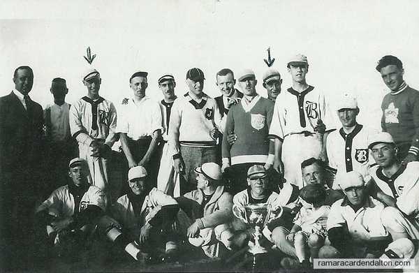 Beaverton Ball team  1922